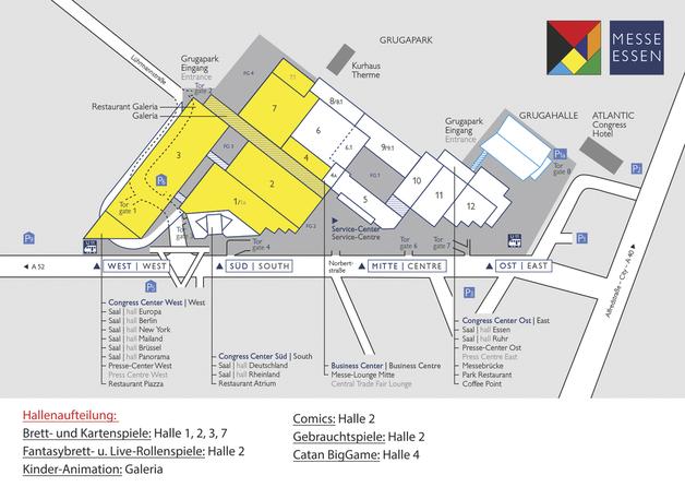 Essen Hallenplan Spielemesse effortless phrases, has